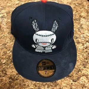 New Era Kid Robot 23 7 1/4 Fitted Hat